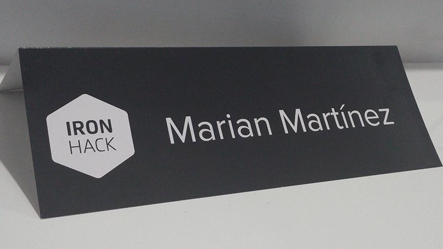 Marian Martínez Ironhack