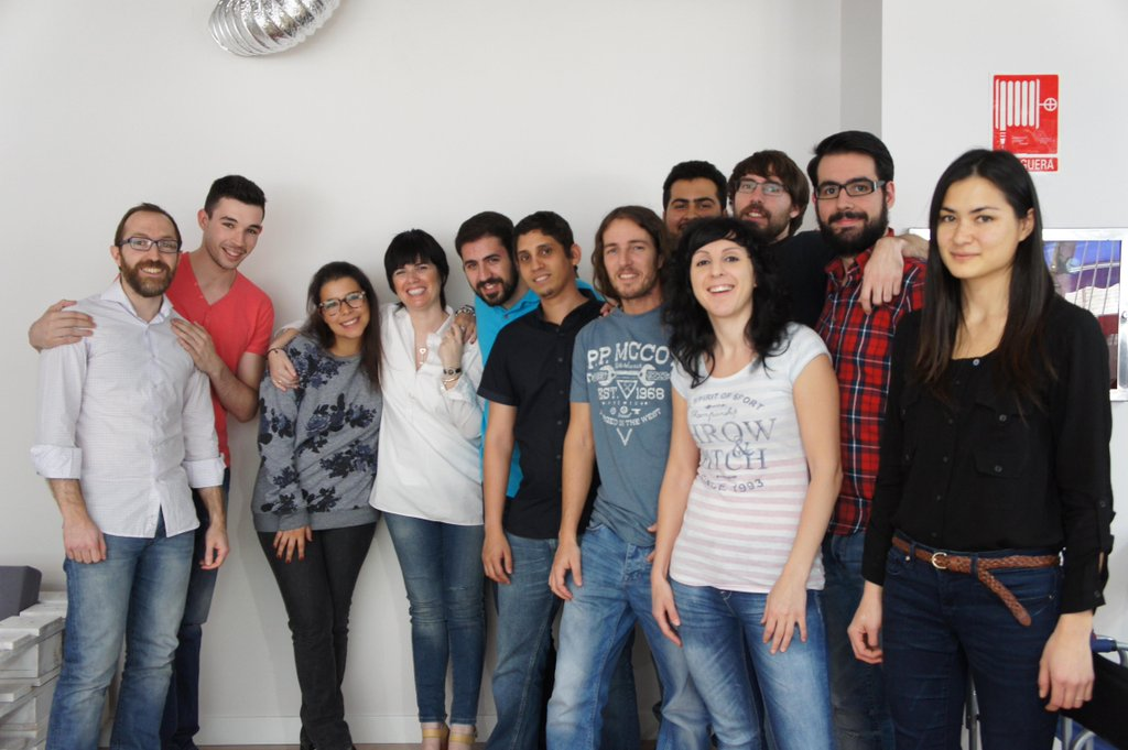 Ironhackers Madrid Abril 2015